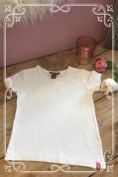 Wit basic shirt van H&M-maat 116