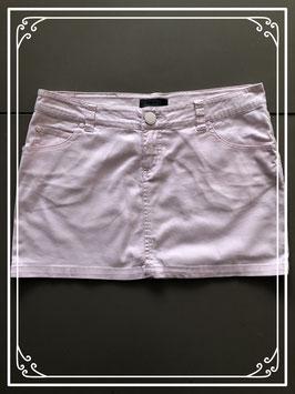 Zachtroze jeans rokje van Only-maat 38
