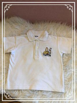 Wit polo shirt van TINTIN - Maat 98