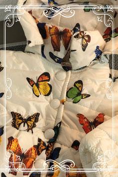 Witte winterjas van het merk Bobora - maat 86