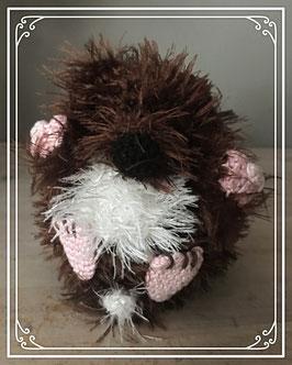 Fluffy egel knuffel