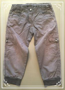 Driekwart bruine broek van Bizzy - maat 134