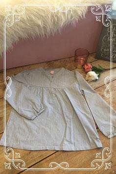 Blauw gestreepte trui met knopen van het Merk - Frendz - Maat 128