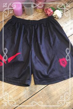 Zwarte sportbroek met rode details van Beltona - Maat L