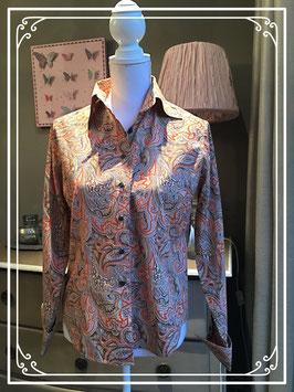 Een chique bloes van Claude Dufour - maat 38