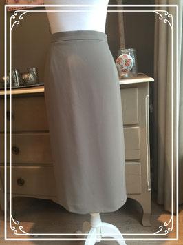 Nieuw: lichtbruine rok van Frank Walder - maat 42