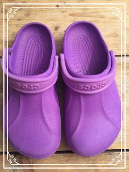 Paarse Crocs - maat 38-39
