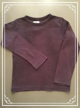 Donkerbruin shirt van L.O.G.G. - maat 122