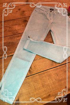 Lichtblauw gebleekte broek - Maat 36