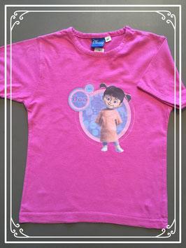 Een roze T-shirtje van Disney - maat 128