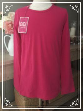 Nieuw: Roze langen mauwen t-shirt van DIDI - maat 152