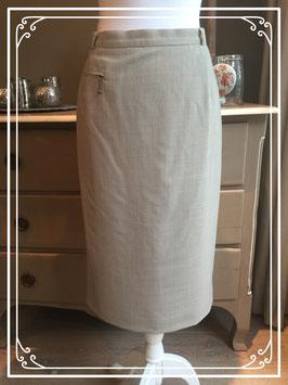 Nieuw: lichtgrijze rok van Blanche - maat 42