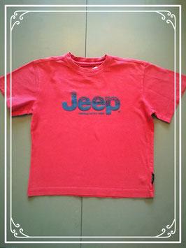 Rood T-shirtje van het merk Jeep - maat 104