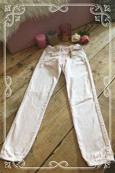 Lichtroze broek van Mini Mignon - Maat 146/152