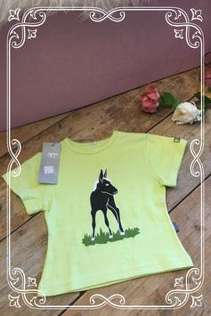 Nieuw groen-geel shirt van het merk ZAZI-maat 104-110