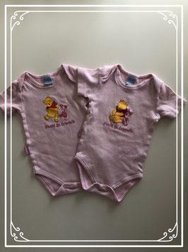 2 Winnie the Pooh rompers - Maat 62/68