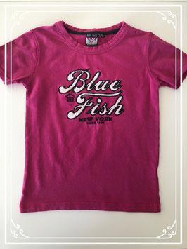 Roze t-shirt van Blue Fish - Maat 122-128
