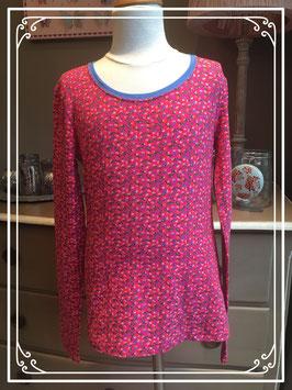 Nieuw: roze gebloemd shirt van de HEMA - maat 158-164