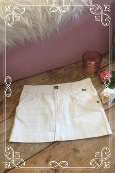 Witte spijkerrok van Jill - Maat 140