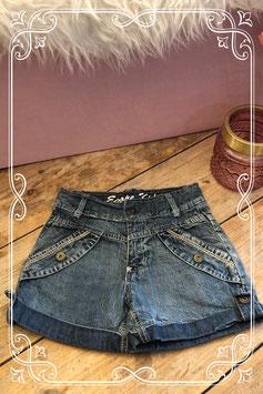Kort spijkerbroekje van EUROPE KIDS - Maat 140