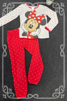 Schattige Minnie Mouse pyjama van H&M maat 122/128