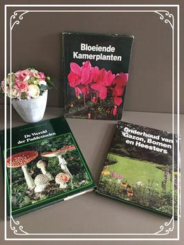 drie natuurboeken