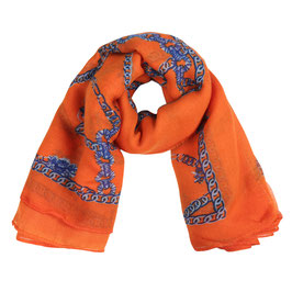 Nieuw: Yehwang - Scarf Chain Party - Orange