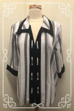 Gestreepte blouse in maat L