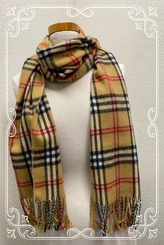 Nieuw! Geruite sjaal van een zachte stof - burberry-look