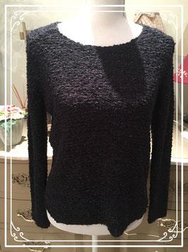 Zwarte gebreide trui van Only - maat S