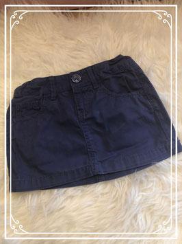 Blauwe katoenen rok van het merk Unitend Colors of Benetton maat - 110