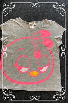 Grijs shirt met Stella van de Angry Birds van H&M maat 158/164