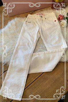Witte VINGINO jeans - Maat 134/140
