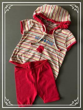 Rode kleding set - Maat 62