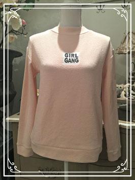 Nieuw: lichtroze trui van Here + There - maat S