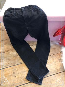 Zwarte spijkerbroek van Skinny Fit & Demin maat 164