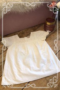Witte blouse met patroon van BON'A PARTE - Maat 140