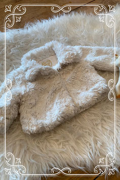 Wit teddy jasje van de Primark - maat 56