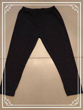 Zwarte legging met veel stretch - Maat M