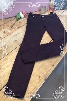 Donker paarse spijkerbroek van het Merk - Yessica - Maat S