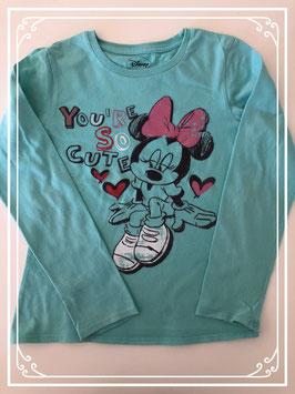 Mintgroen shirt van Disney - Maat 128