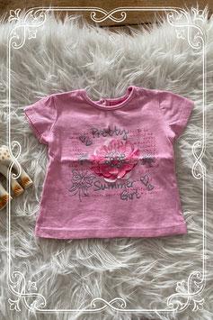Leuk roze shirt met print van Baby blue - maatje 68