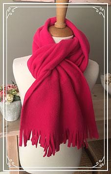 Warme roze omslag sjaal