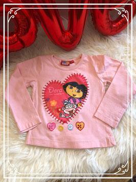 Lichtroze trui van het merk Dora the explorer maat 92-98