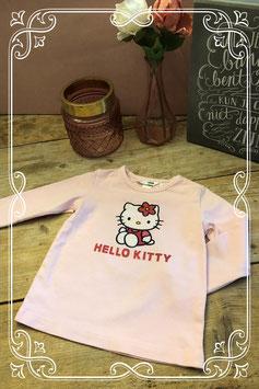 Roze longsleeve van H&M en hello kitty-maat 92