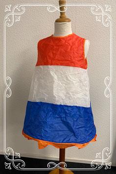 Pop-up Koningsdag jurkje in maat 110/116