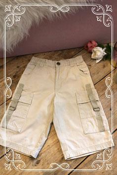 Crèmekleurige broek van Palomino - Maat 104