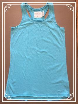 Turquoise topje van L.O.G.G. - maat 146-152