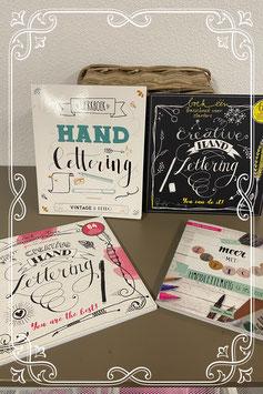 4 boeken voor en over Handlettering