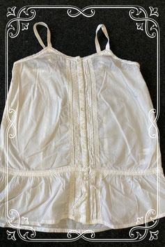 Wit sierlijk hemdje van H&M maat S